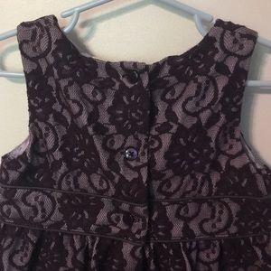 Cherokee Dresses - Cherokee 3t purple lace fancy holiday dress
